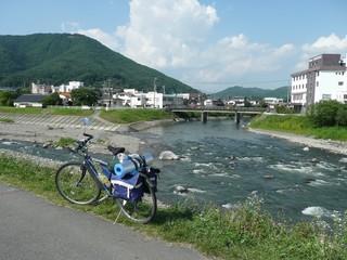 辰野町にて