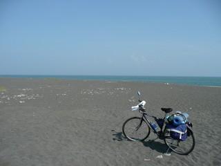 数年振りの砂浜