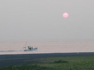 清水港の夜明け