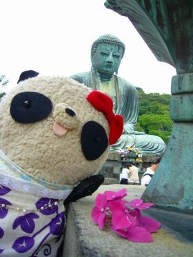 鎌倉の大仏さまとおばぶさま