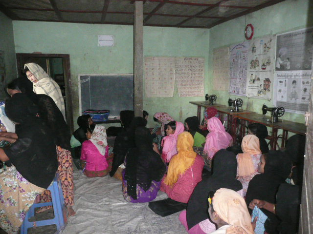 国境地域での女性を対象としたトレーニングの終わりに(1)