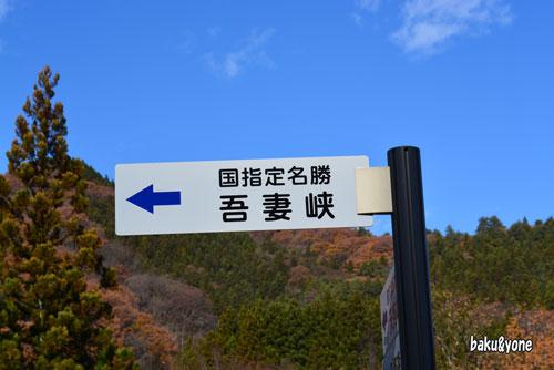 国指定名勝吾妻峡