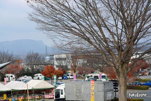 道の駅白沢駐車場