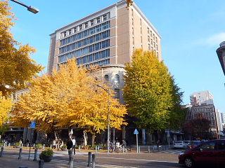 日本大通り黄葉2