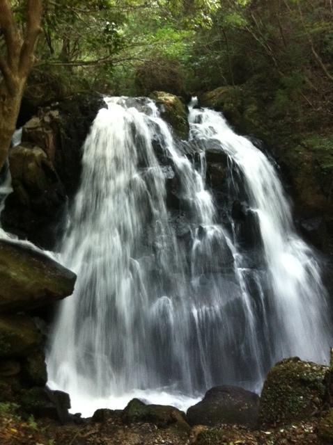 鶏鳴の滝 正面