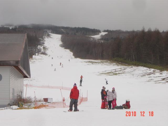 2010~スキー場オープン