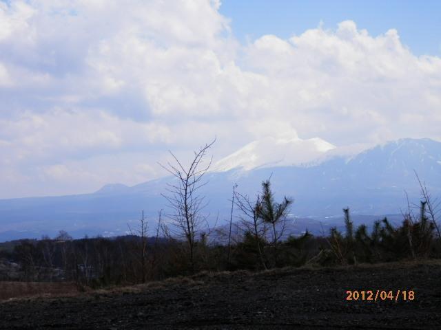 4月の浅間山