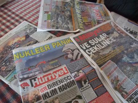 トルコの新聞