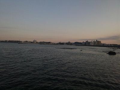 突堤からの眺め
