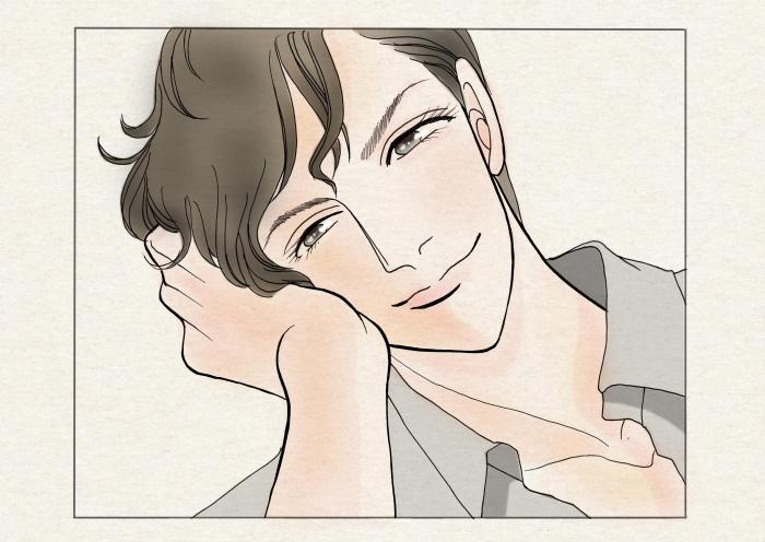 裕翔の笑顔