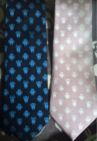 ドロイド君ネクタイ