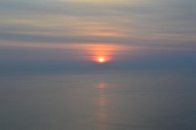 地球岬の夜明け