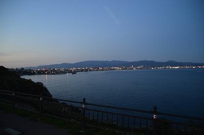立待岬からの夜景