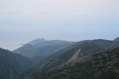 龍飛岬が見える