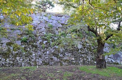一番古い石垣