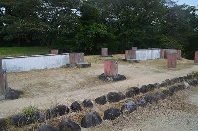 奈良時代の外郭城門跡