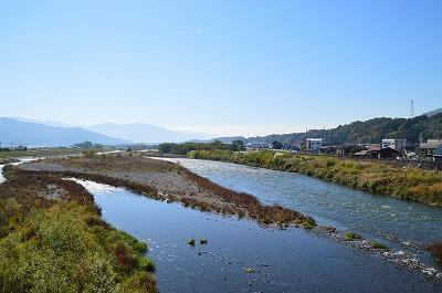 天竜川と中央・南アルプス