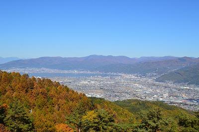 杖突峠からの諏訪湖 (1)