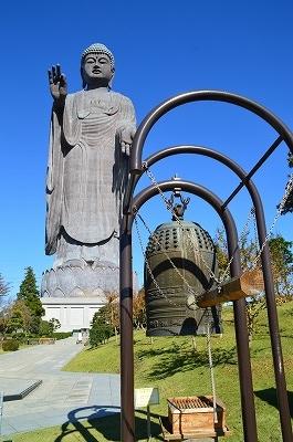 梵鐘と大仏
