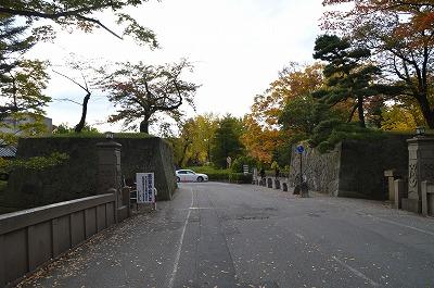 上田城入口