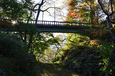 堀から見た白兎橋