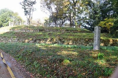 三の丸土台石垣