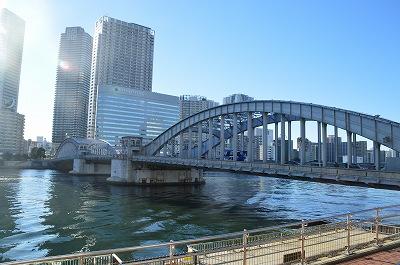 勝鬨橋全景