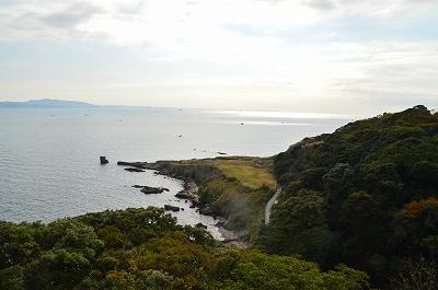 観音崎の景色