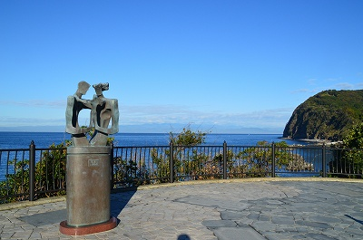 旅人岬の謎モニュメント
