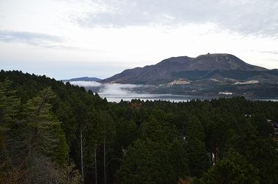 箱根峠からの芦ノ湖