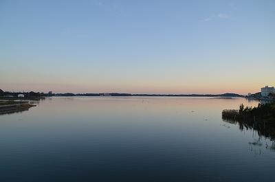 綺麗な湖面だ