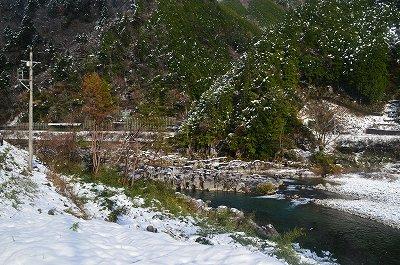 飛騨川の奇岩