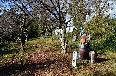 笹尾山ジオラマ