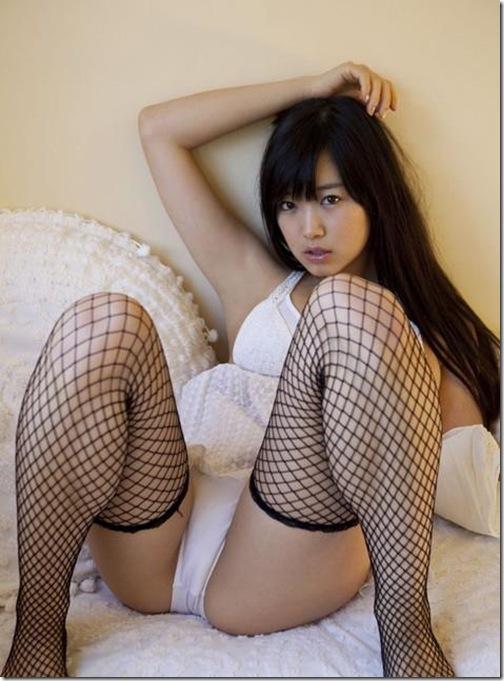 【エロパンストでセックルを誘う女性】セクシー下着パンティーセミヌード裸エロ画像【ほしのあき動画!