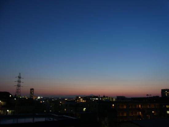富士山 2月