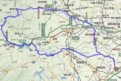甲武トンネルGPSログ