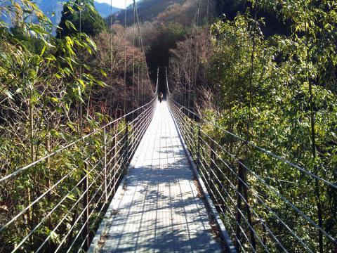 道志みち・つり橋