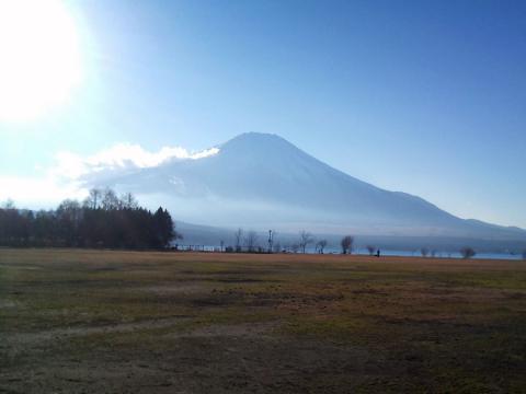 山中湖の富士山1