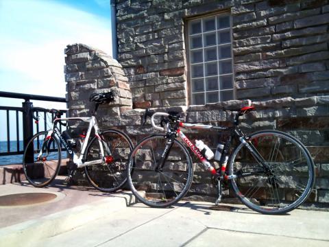大人と子どもの自転車