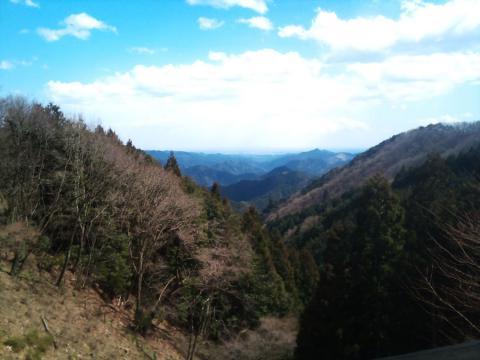正丸峠からのビュー