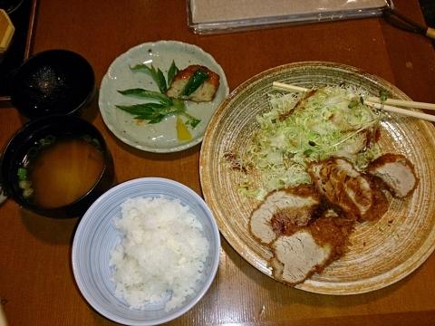 ヒレカツ定食1