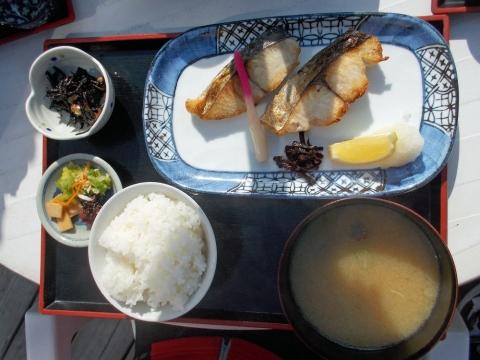 鰆焼き魚定食