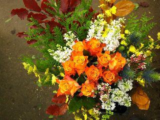 今日の花束