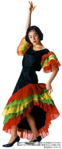 フラメンコドレス