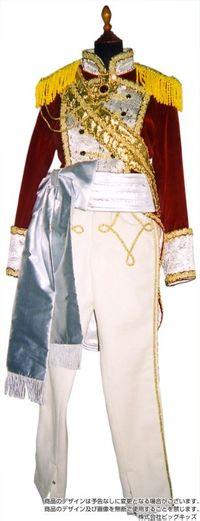 18世紀フランス軍人風(オスカル風)