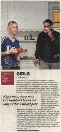 Lawrence_Track Of The Week_NME
