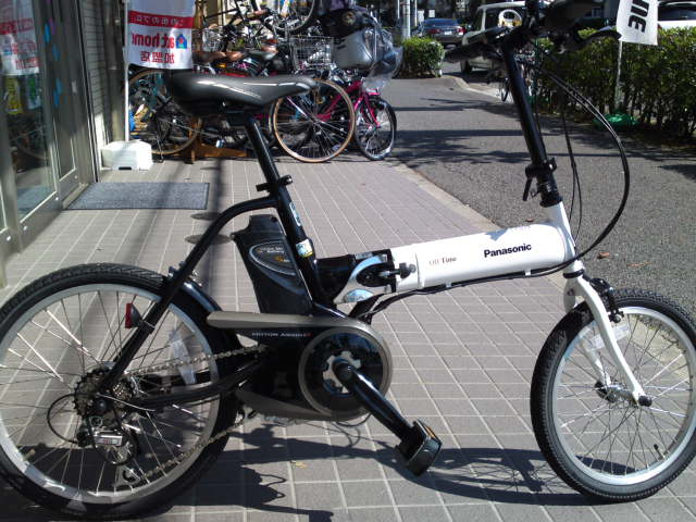 ... ホイールの電動自転車いろいろ