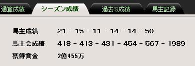 16S成績