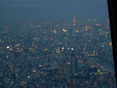 スカイツリー4_東京タワー