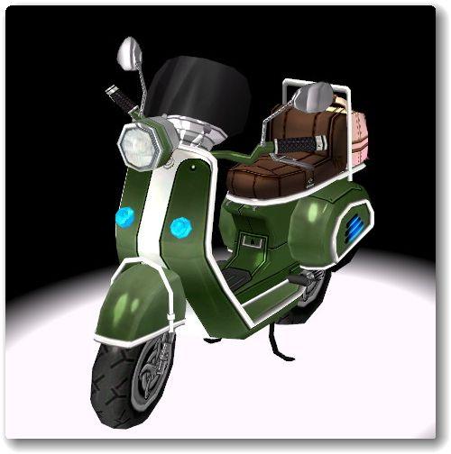 130927スクーター緑